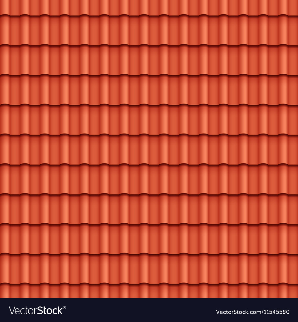 Roof tile seamless pattern royalty free vector image for Roof tile patterns