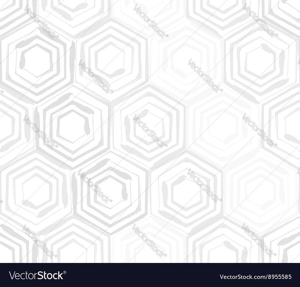 Seamless background template made from hexagons