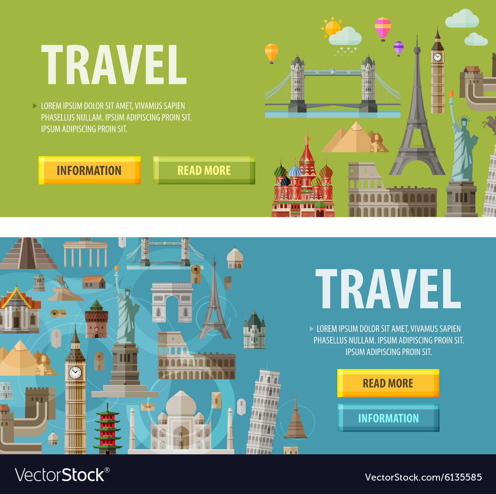 Travel logo design template vacation or