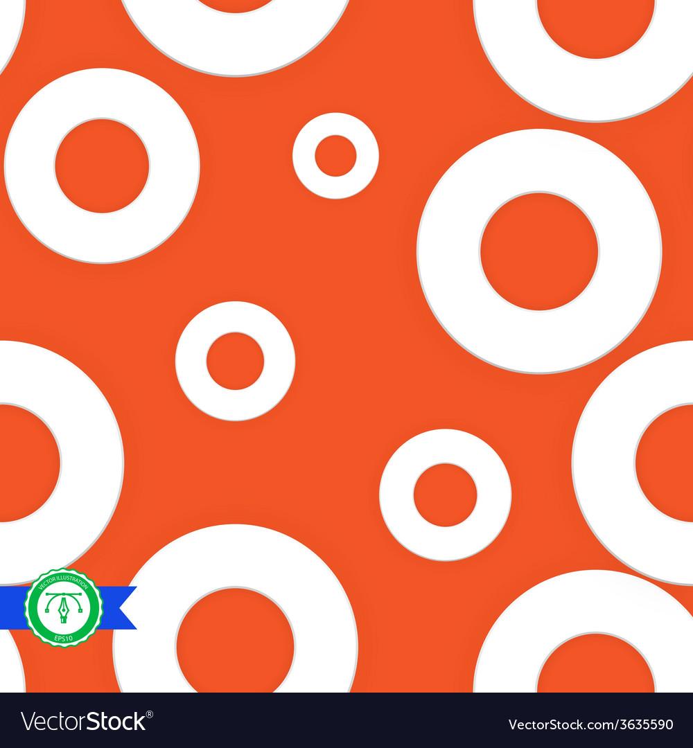 Abstract Seamless Circles Pattern