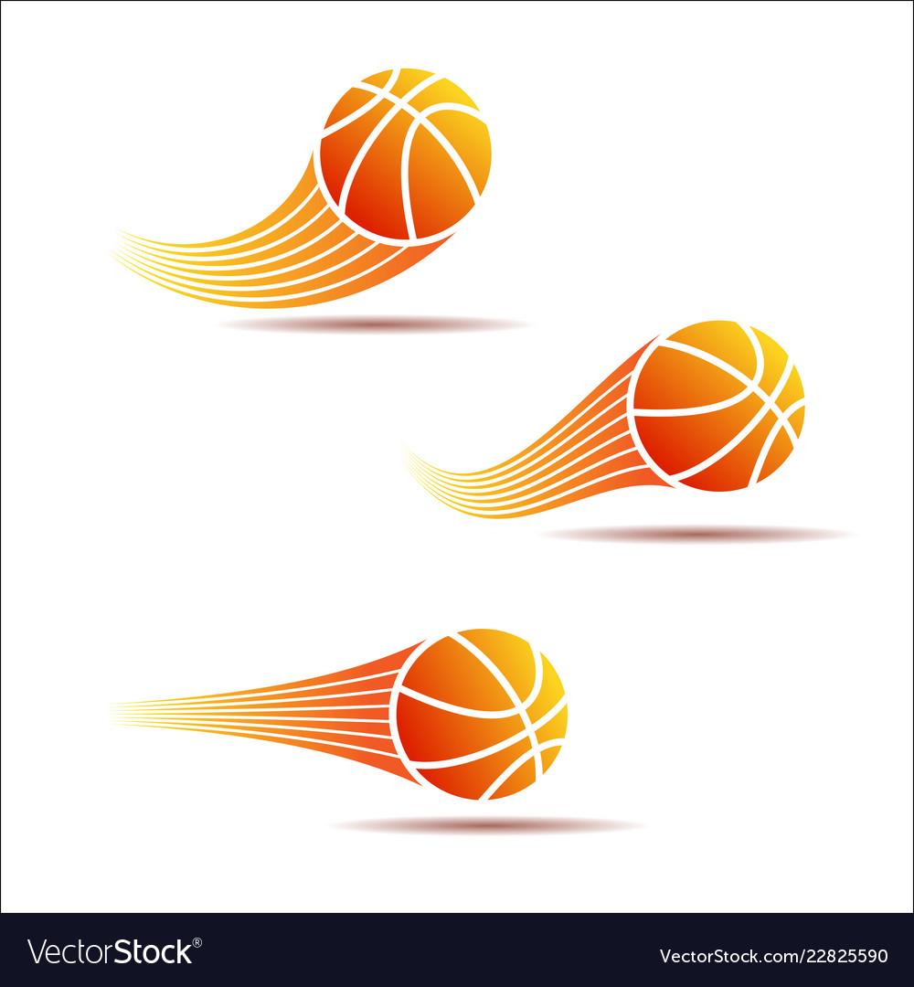 Basketball moving set