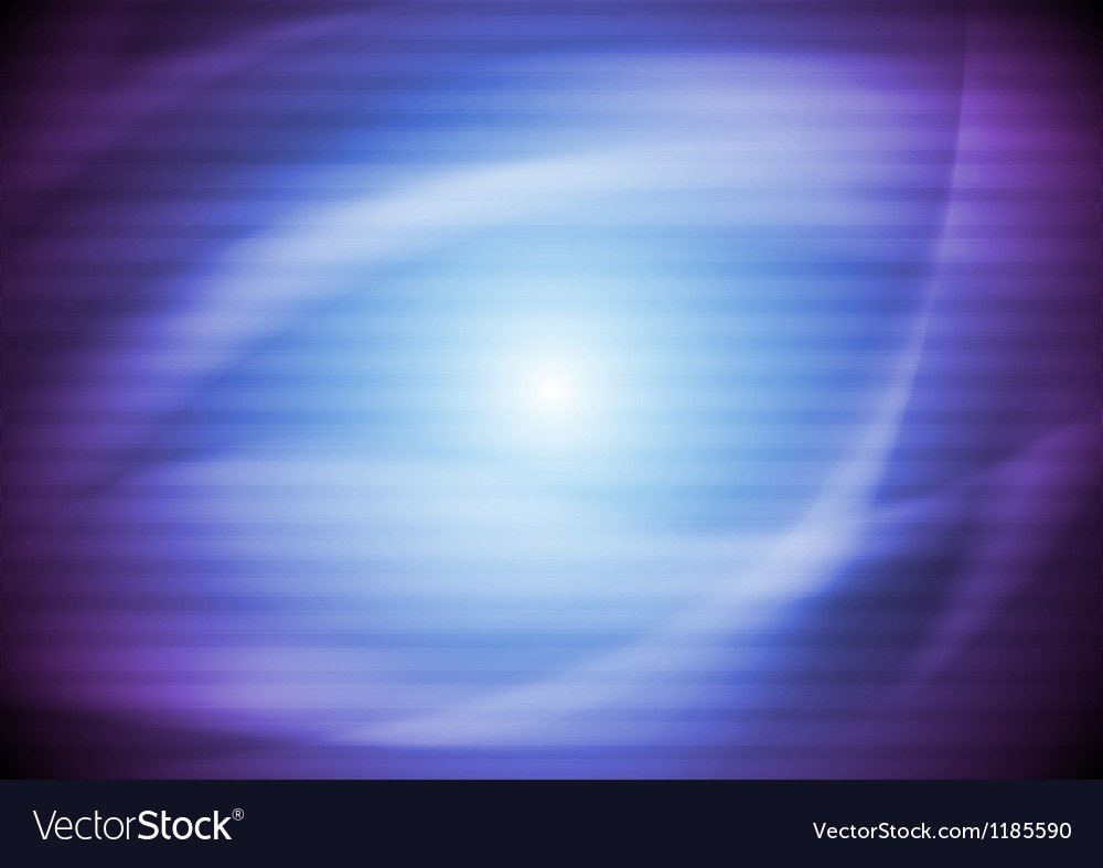 Bright wavy background vector image