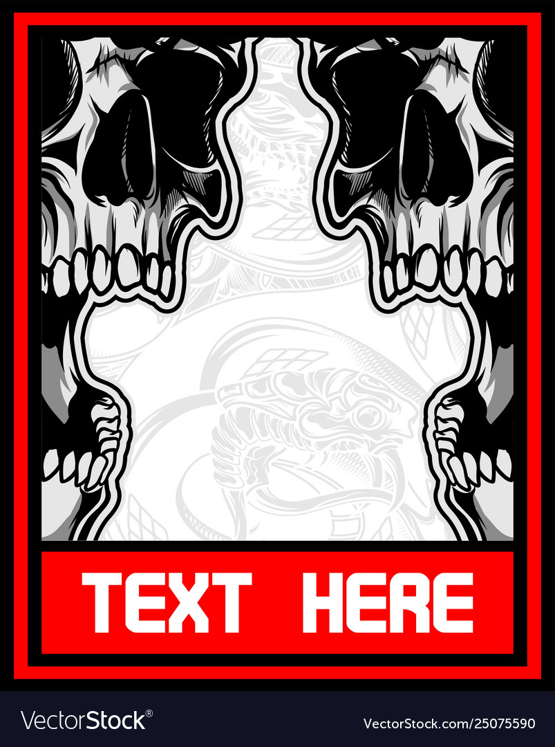 7dc1040574386 Skull, Demon & Wings Vector Images (86)