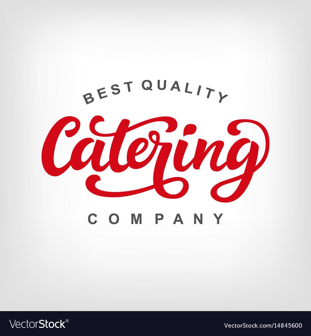 Catering logo badge