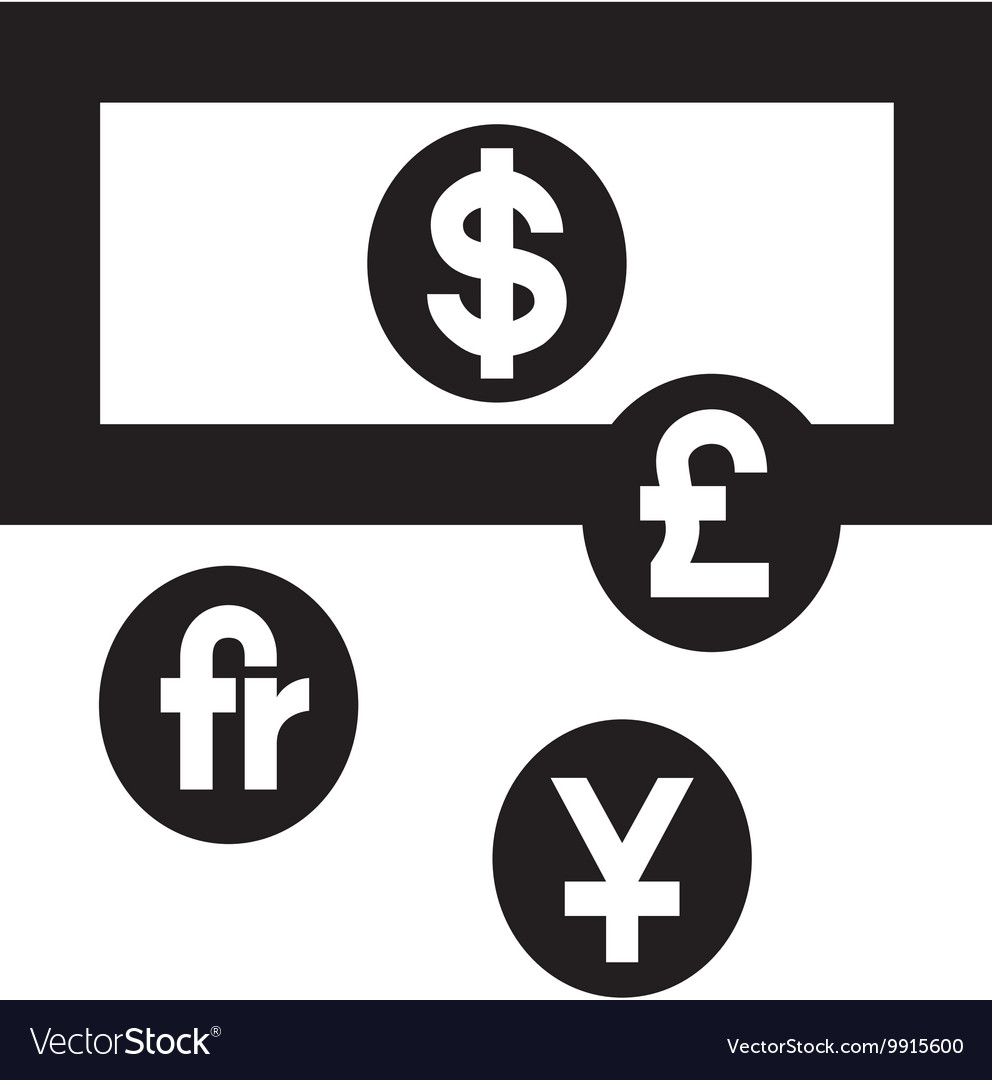 Currency Exchange Symbol Royalty Free Vector Image