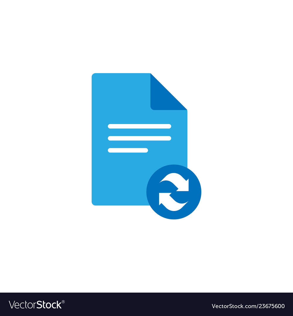 Document icon graphic design template