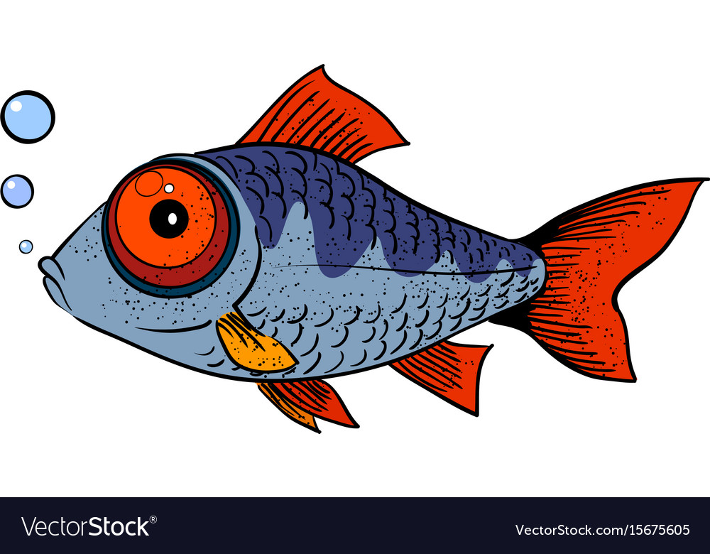Cartoon image of fish