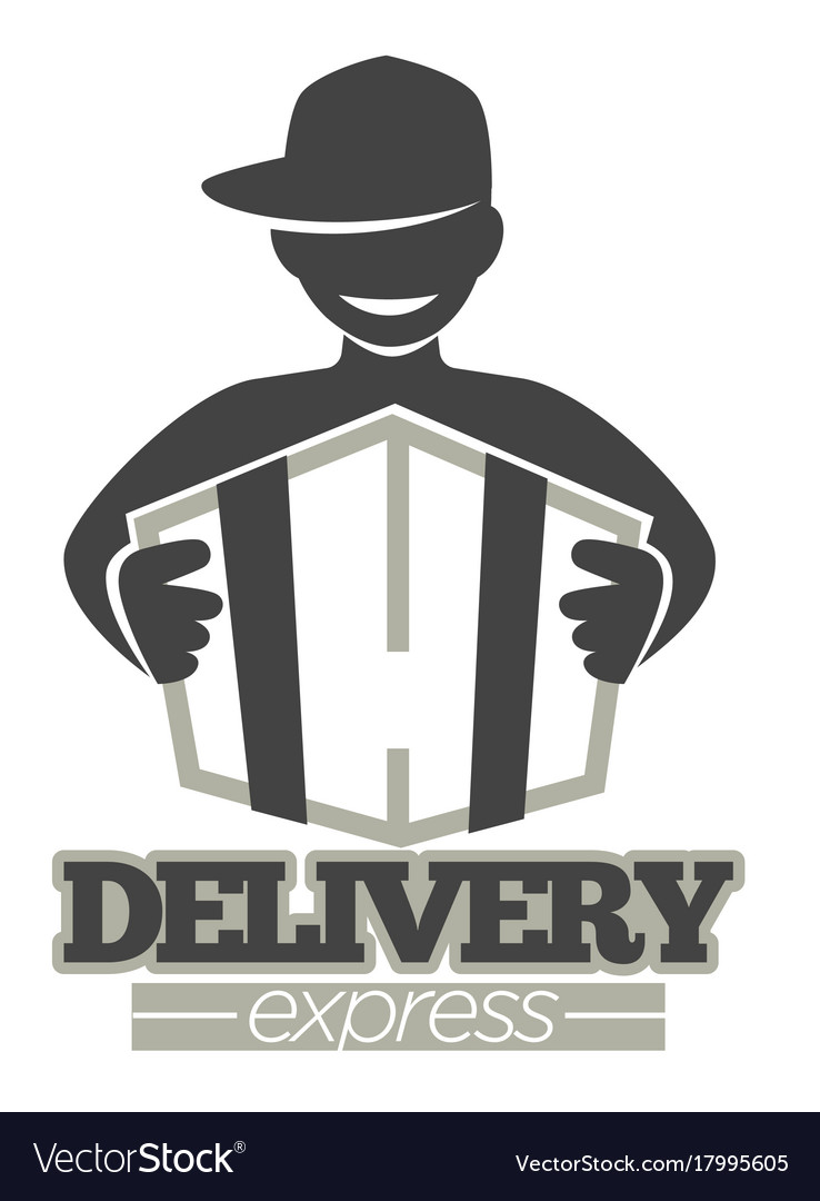 Delivery service or express shipment shop