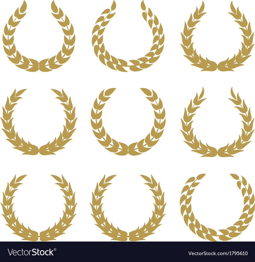 Laurel wreaths 1
