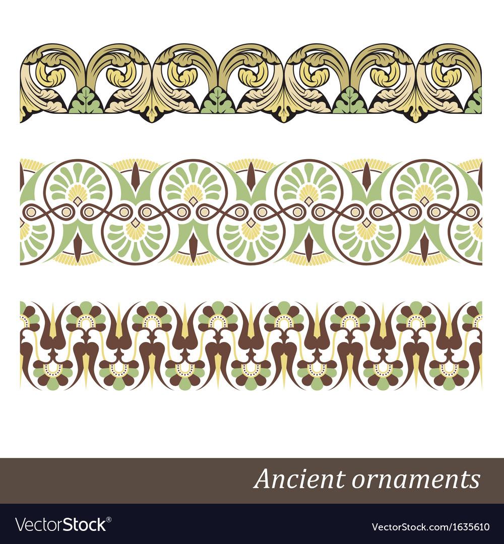 Old greek ornament
