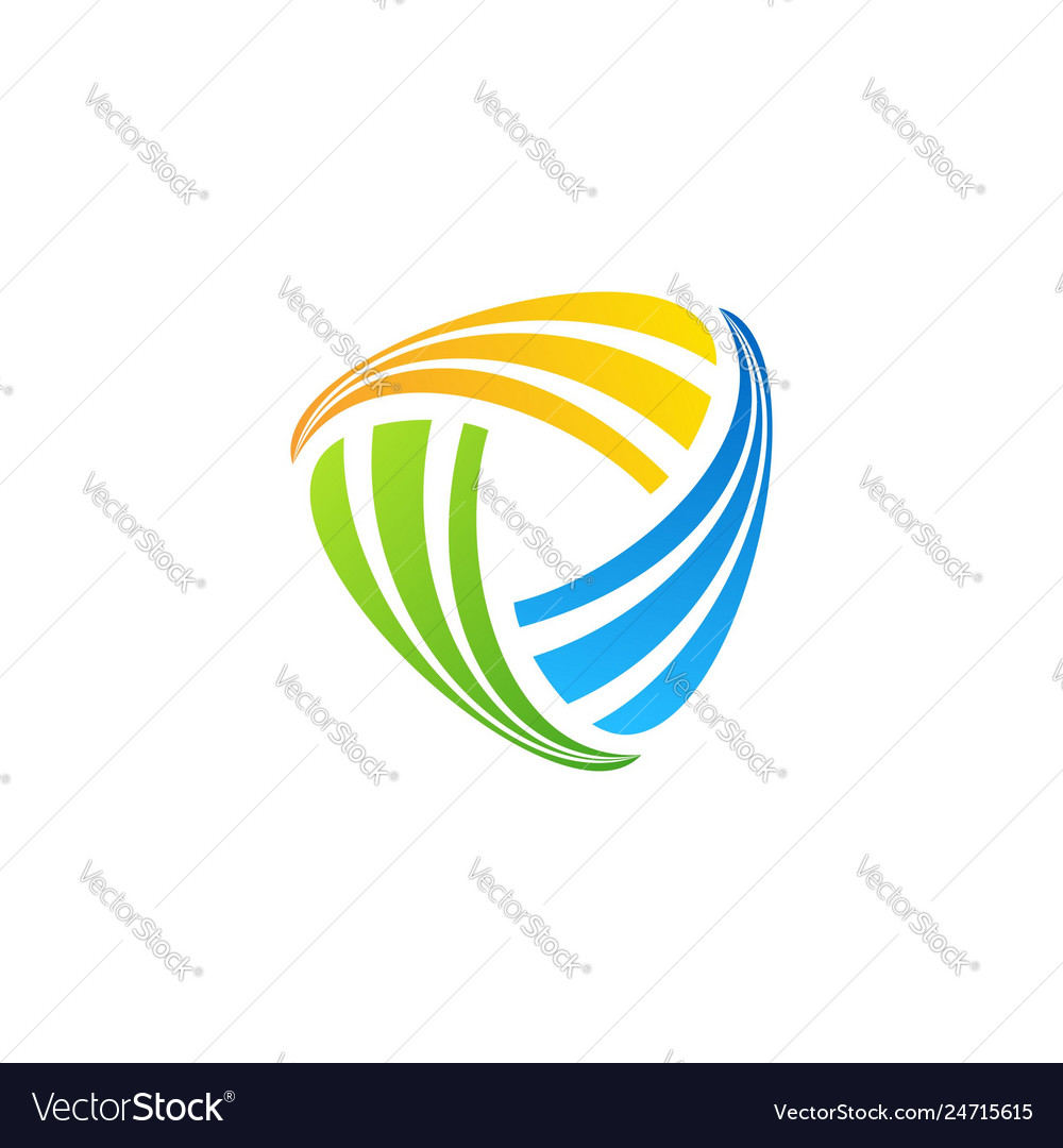 Abstract element connection logo symbol icon