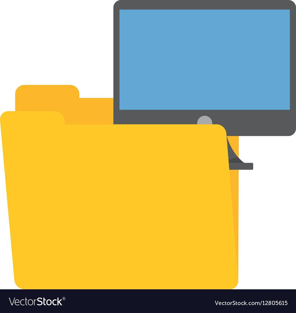 Folder data computer screen device technology