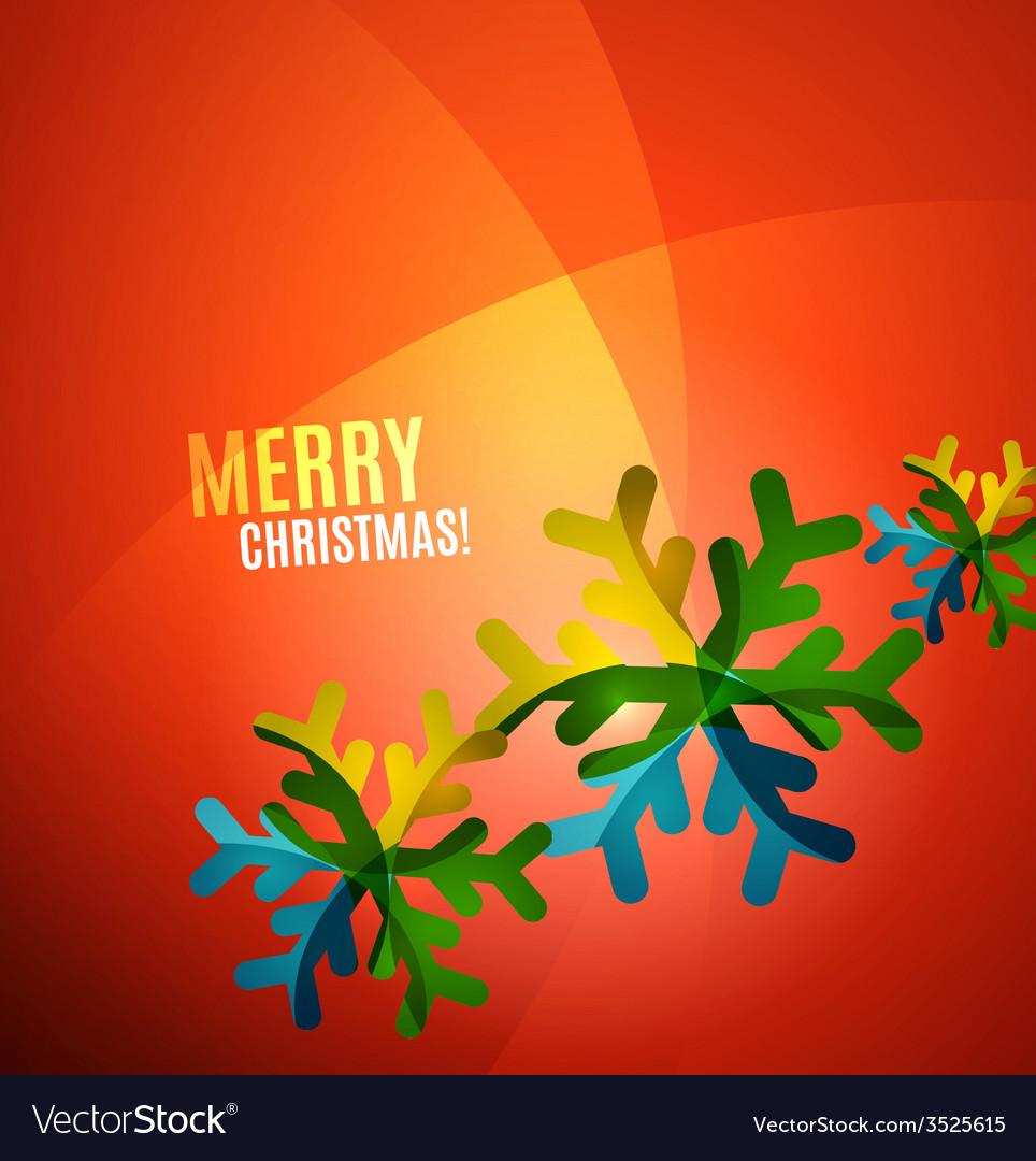 Modern Abstract Christmas Card