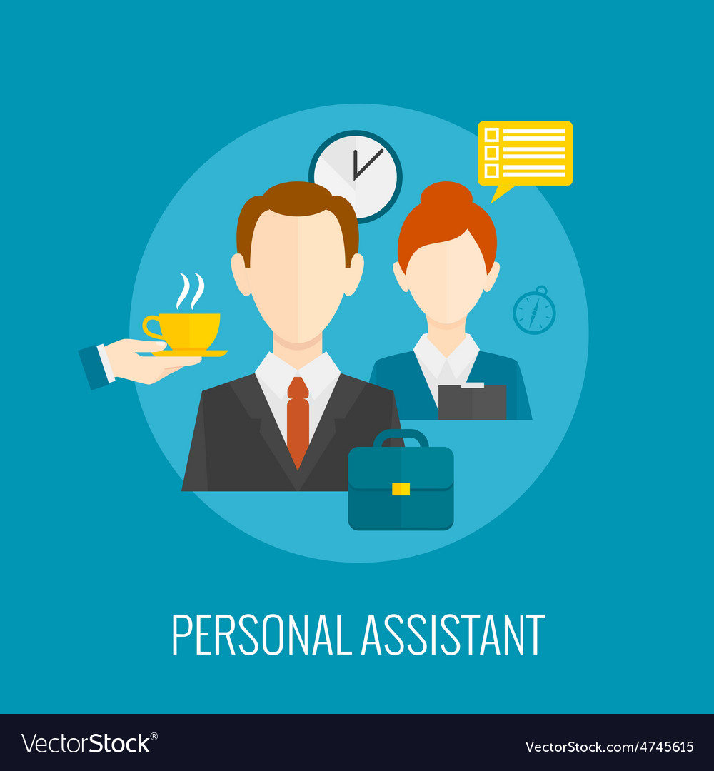 Personal assistant icon