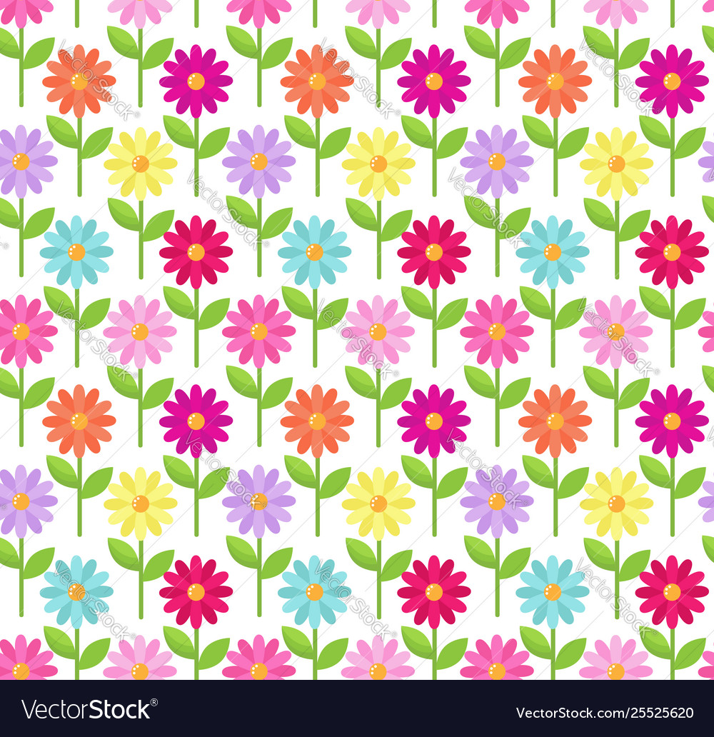 Daisy color pattern