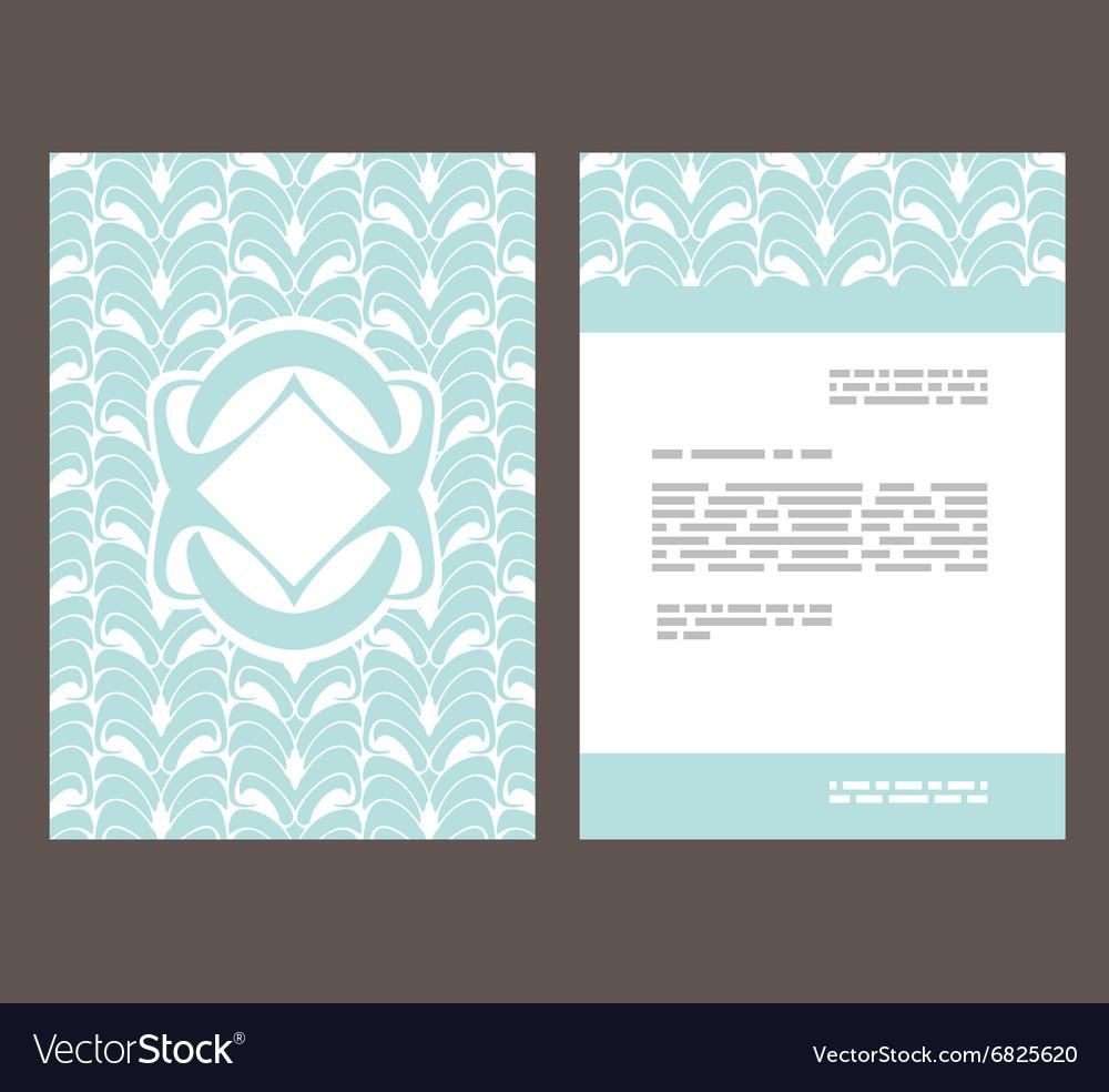 Flyer leaflet booklet layout Editable design