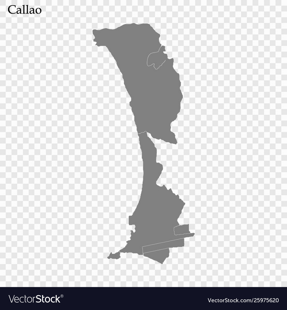 High quality map is a province peru