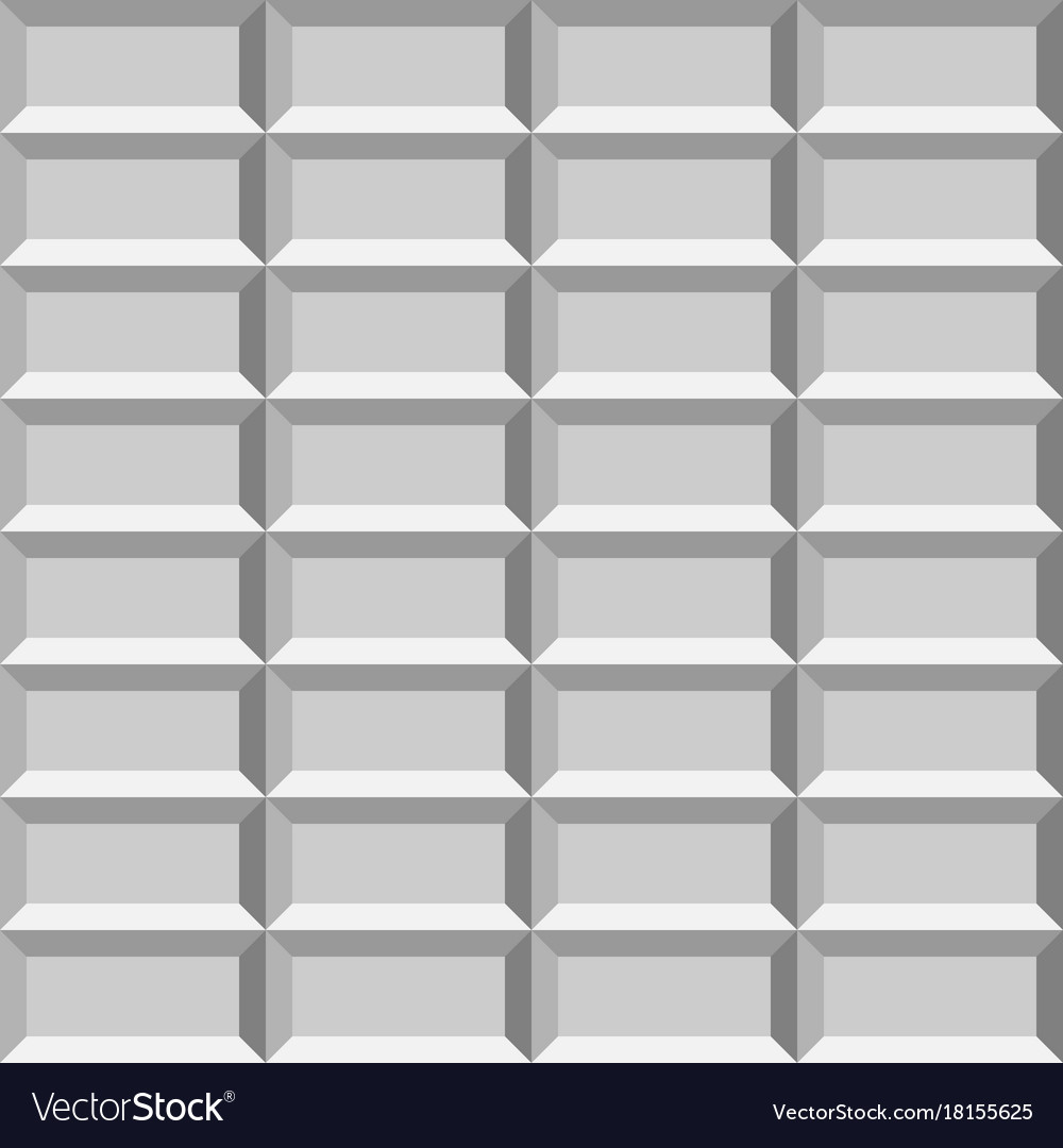 3d light tiled wall seamless pattern Royalty Free Vector