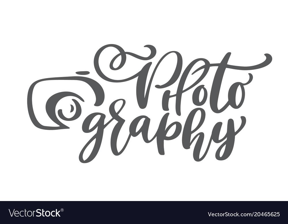 Camera photography logo icon template Royalty Free Vector