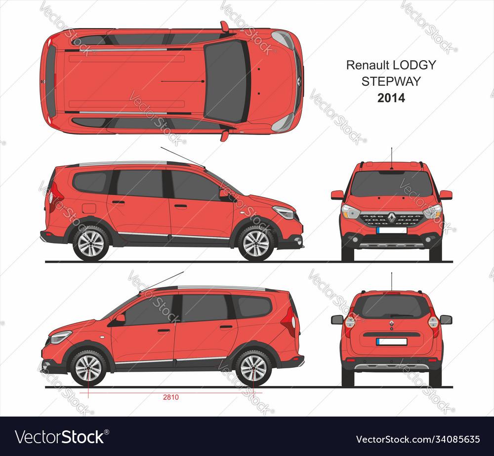 Renault lodgy stepway 2014