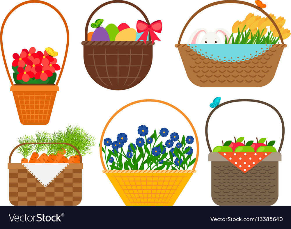Easter baskets collection