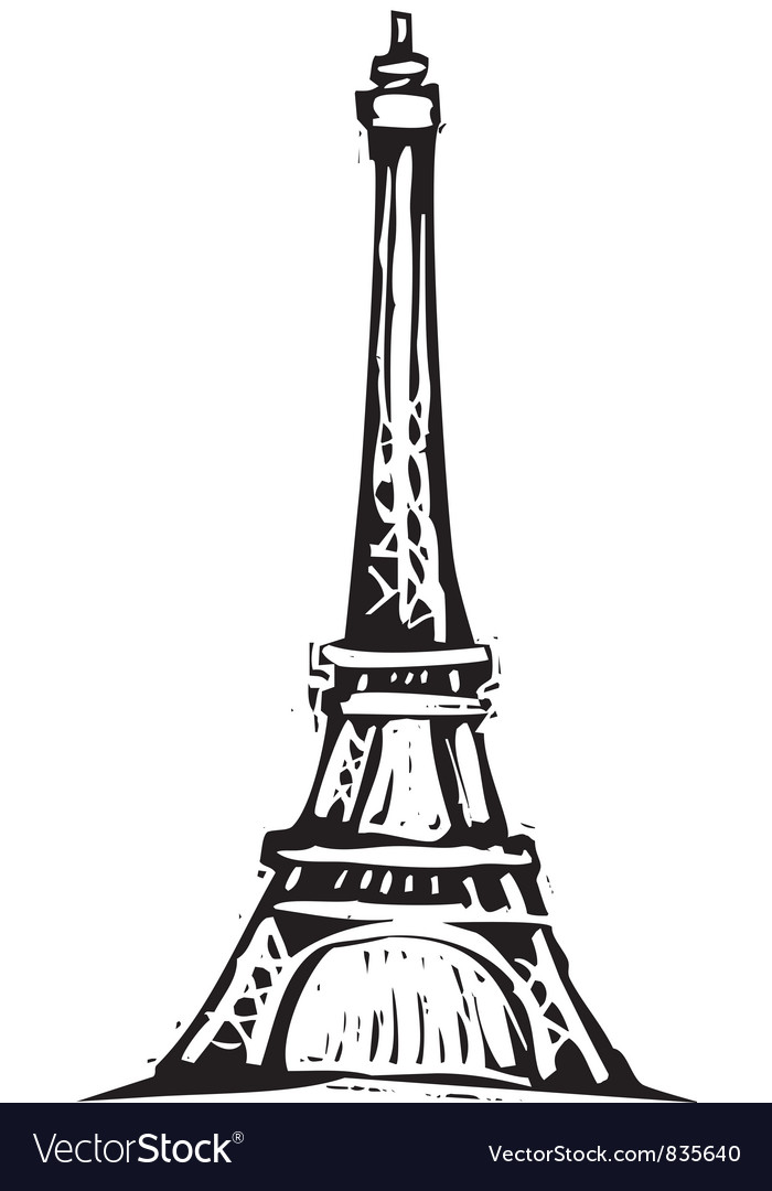 Eiffel tower royalty free vector image vectorstock eiffel tower vector image thecheapjerseys Gallery