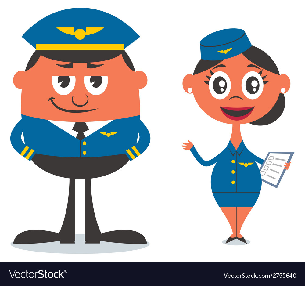 Pilot and Air Hostess