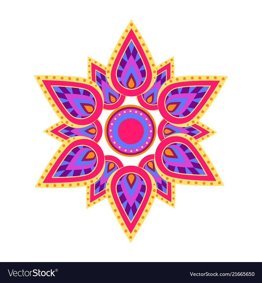 Spiritual symbol mandala on