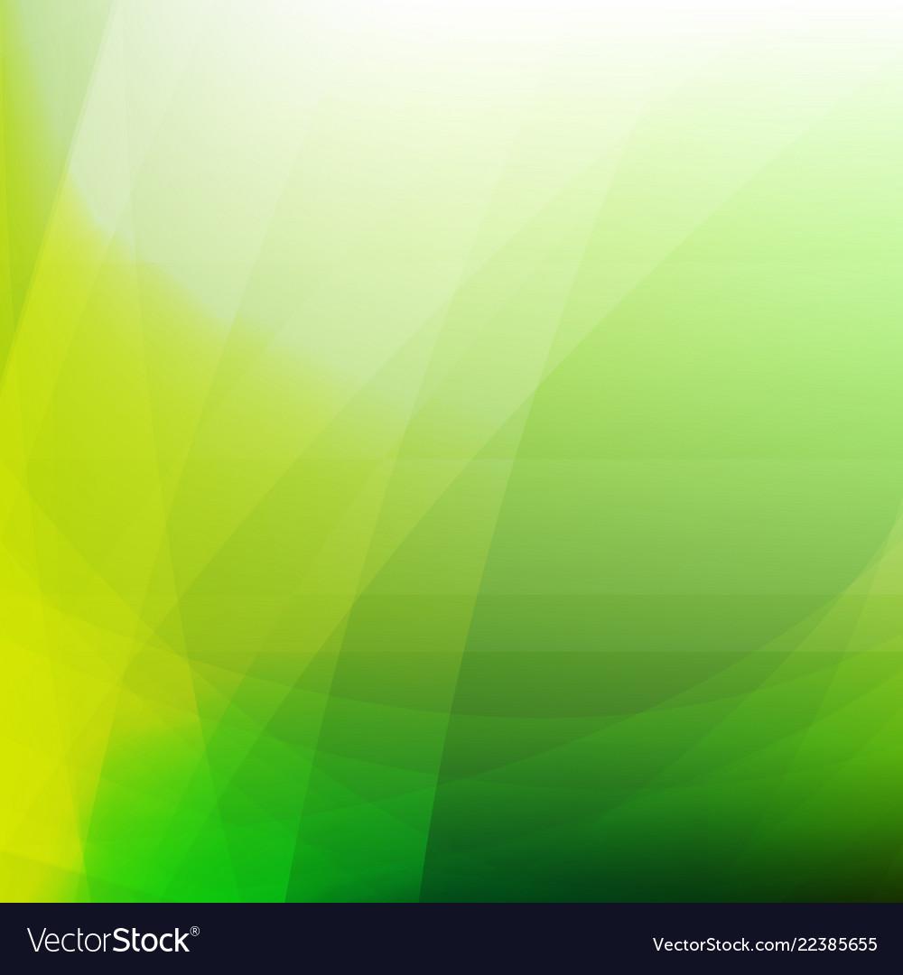 Green dynamic background