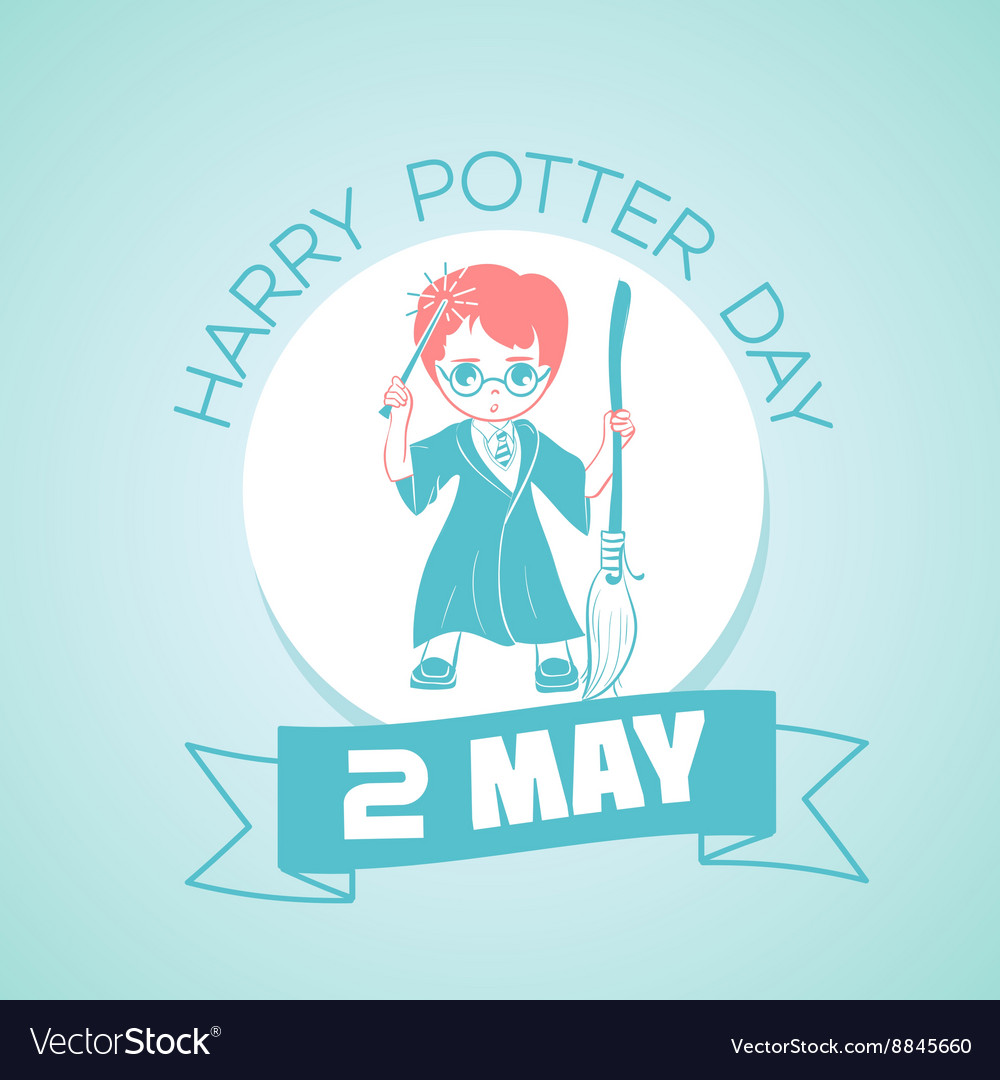 2 may Harry Potter Day