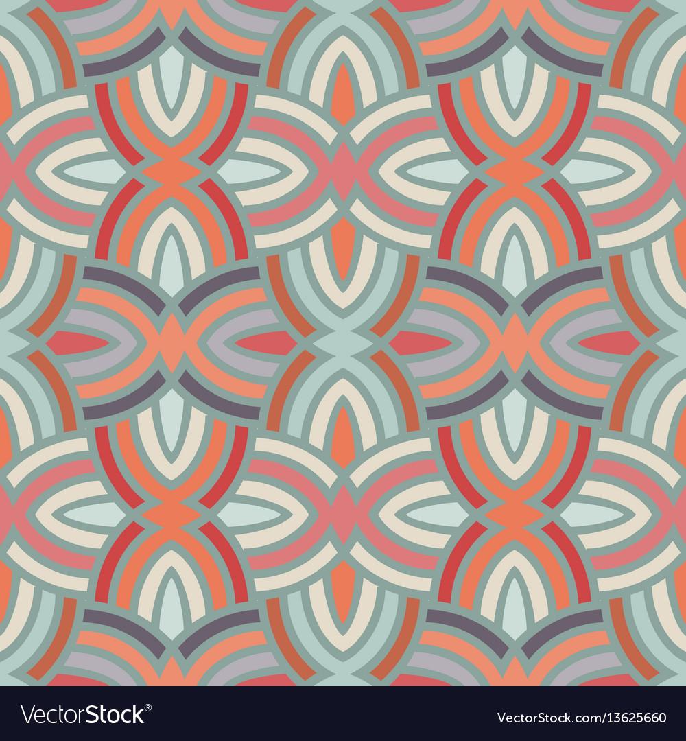 Seamless reto pattern