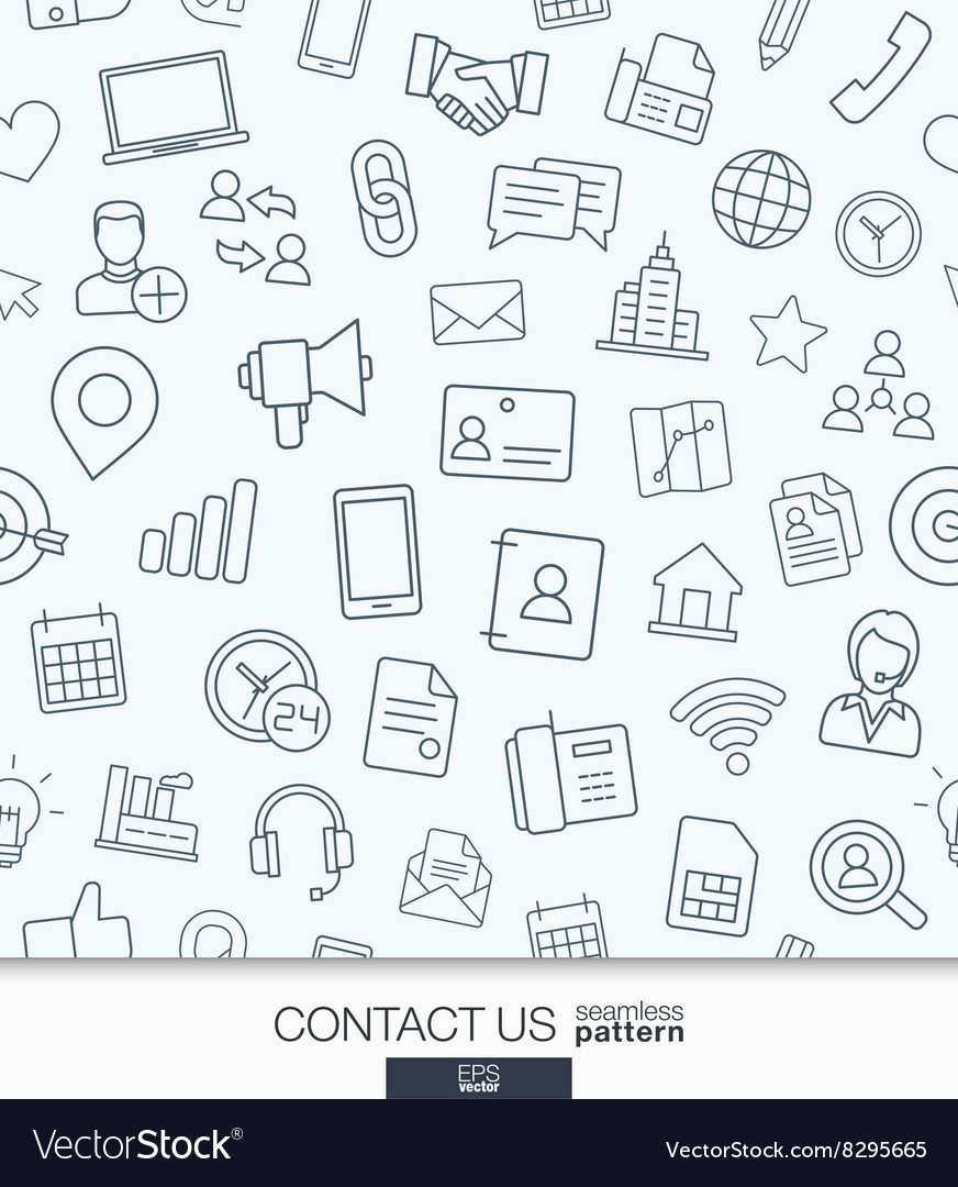 Contact us wallpaper Black and white
