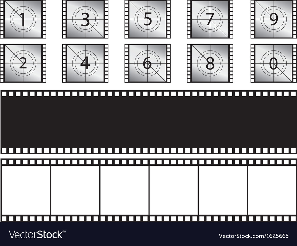Film strips and countdown