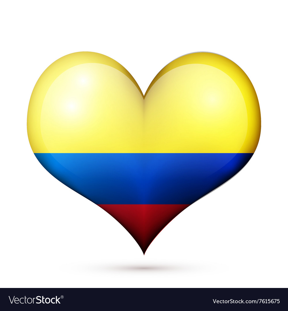 Colombia Heart flag icon