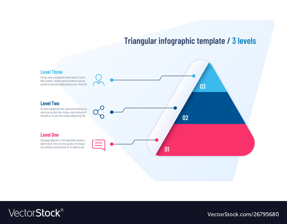 Infographic template in shape of