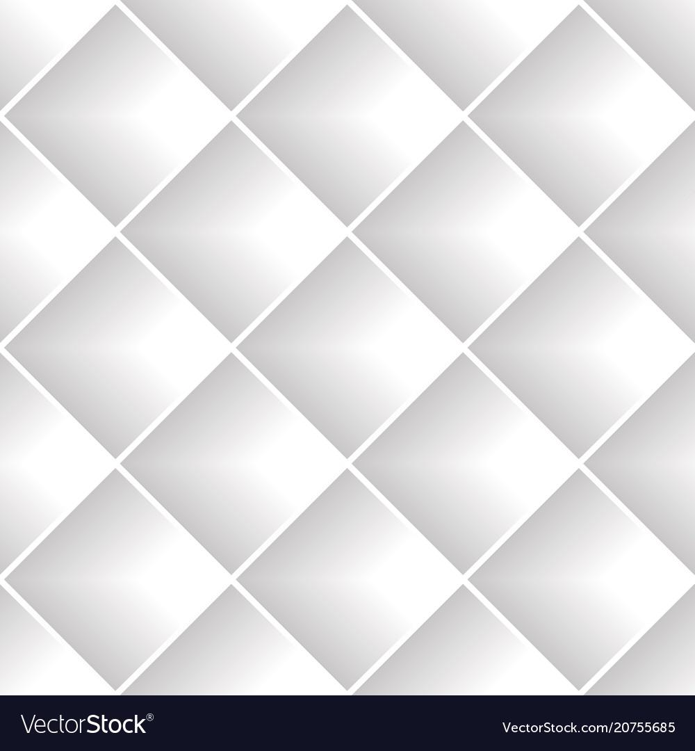 Gray diagonal squares seamless pattern