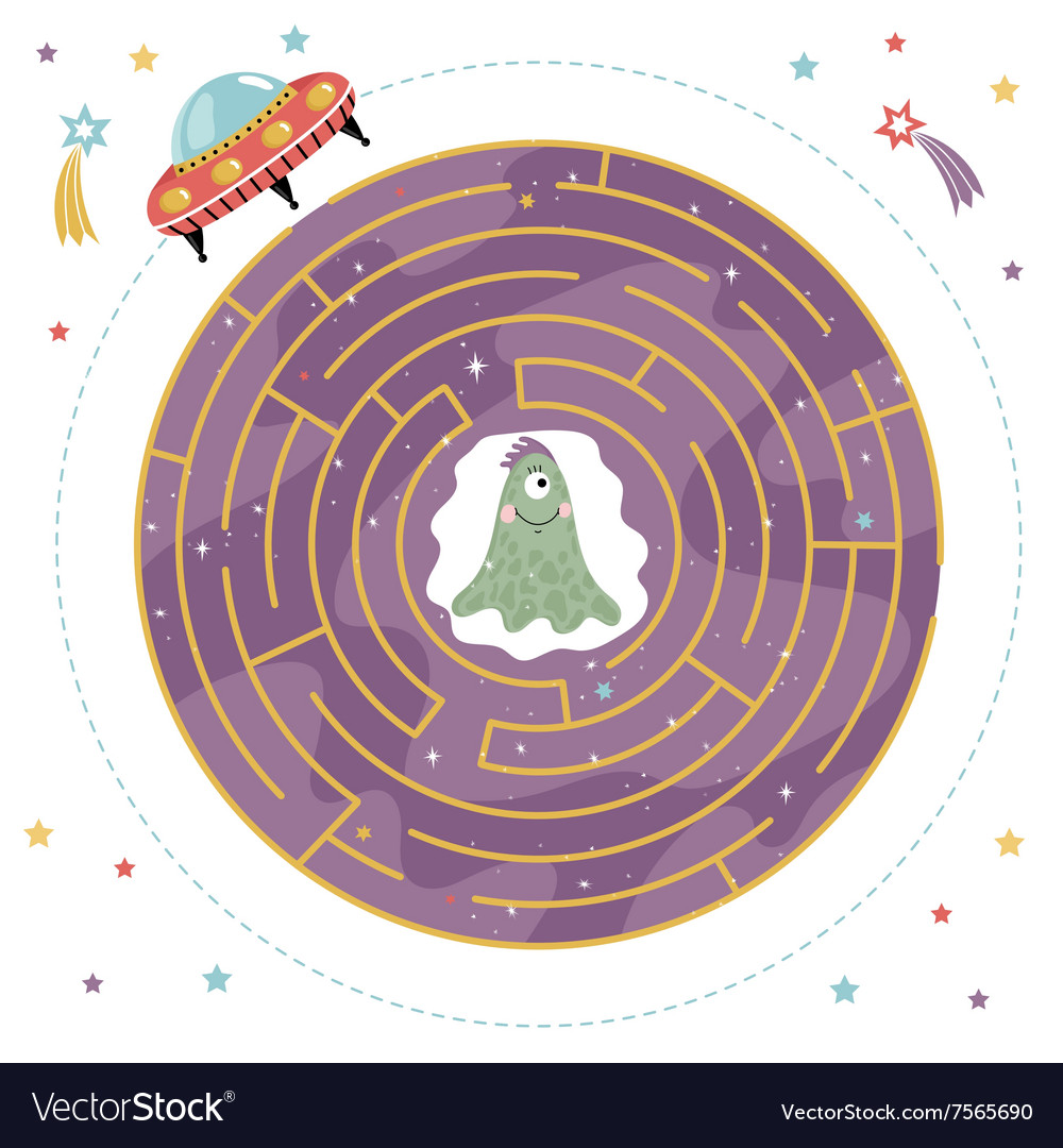 Maze Logic Game for Kids