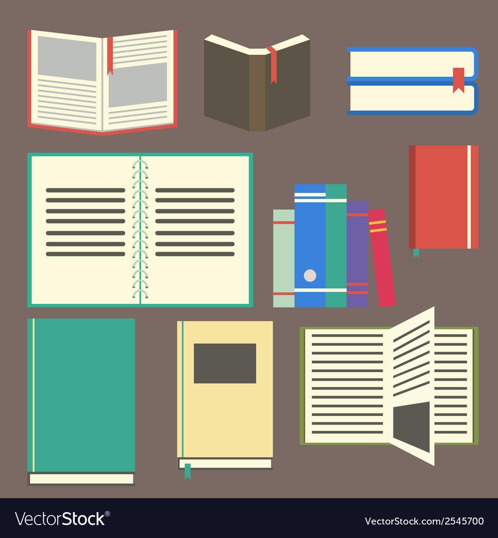 Flat design book