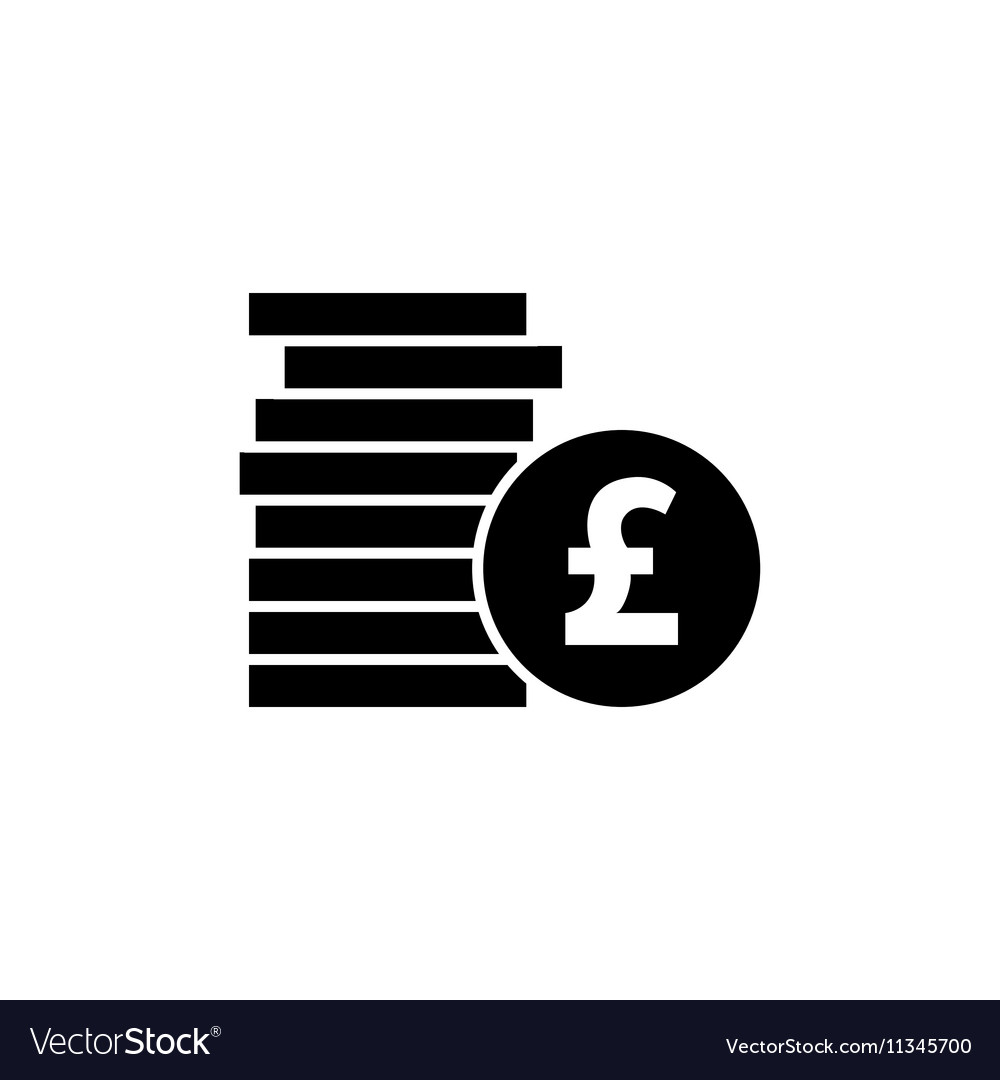 Pound Icon Royalty Free Vector Image