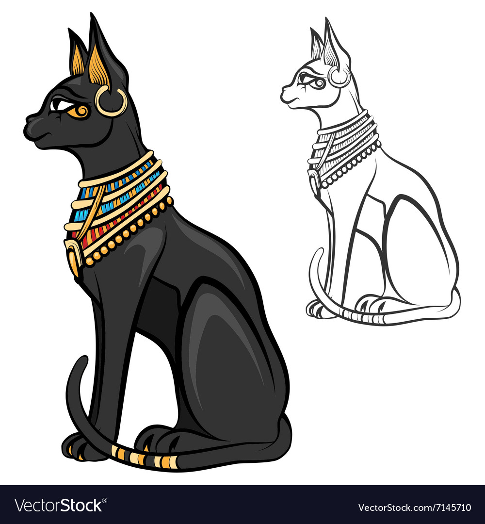 statue cats goddesses pinterest