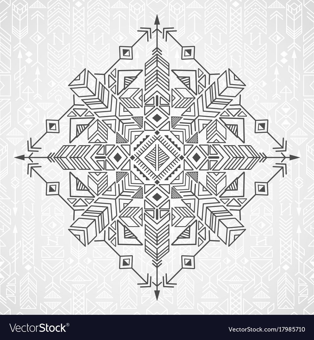 Native ethnic ornament