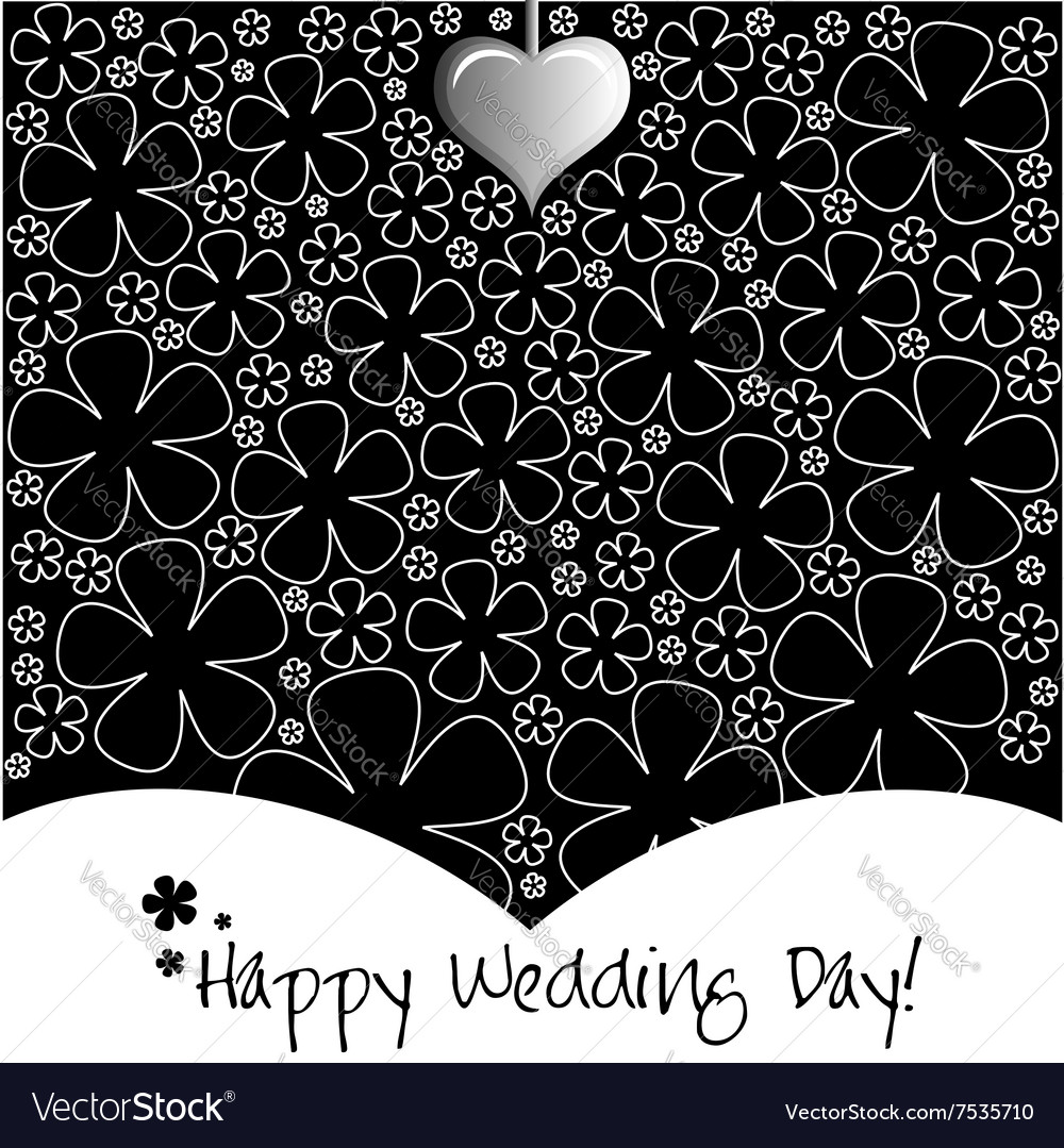 Wedding Day background or card