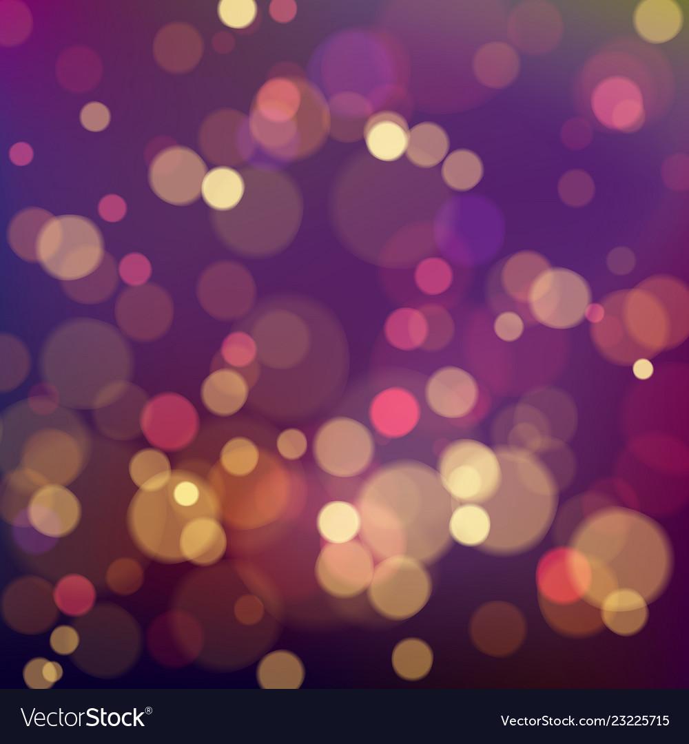 Colorful bokeh background magic festive blurry