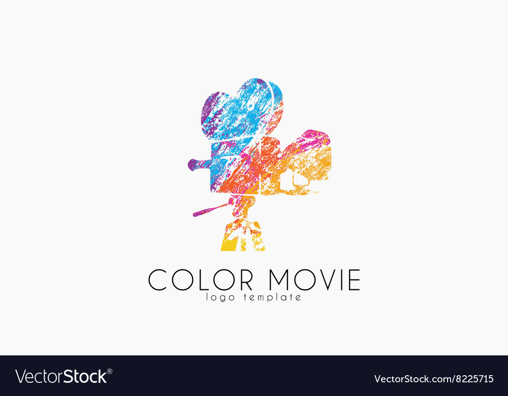 Film camera logo Movie camera Creative logo