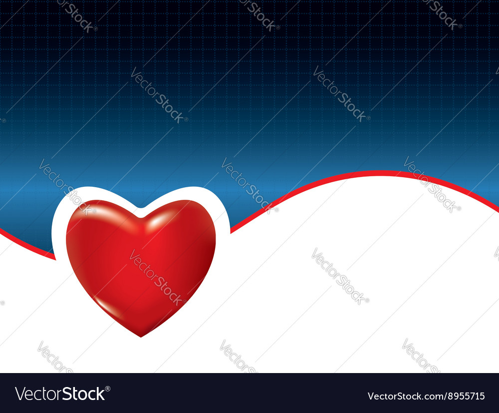 Medical background with heart