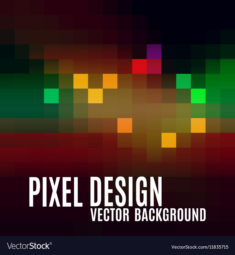 Pixel abstract background as colorful mosaic