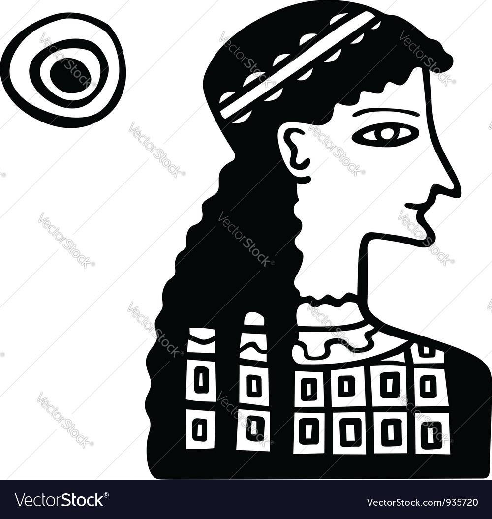 Ancient Greek lady