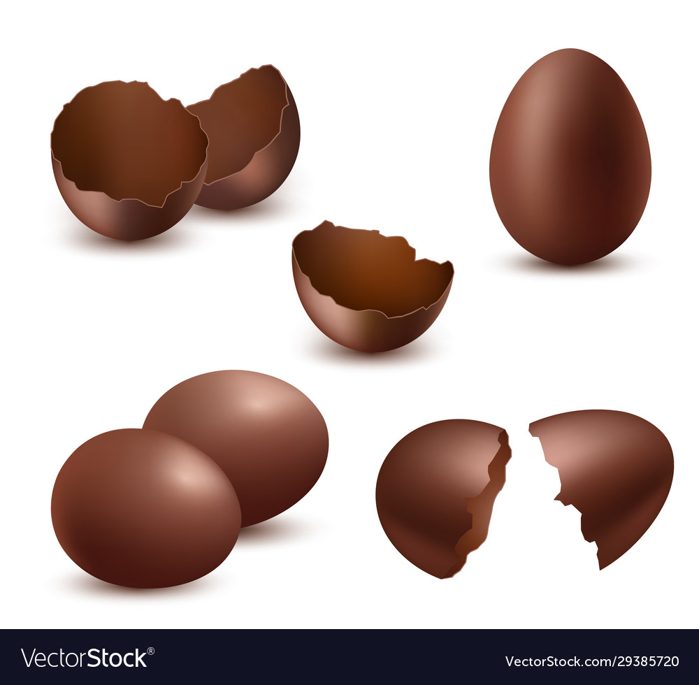 Chocolate eggs tasty food sweet shiny natural