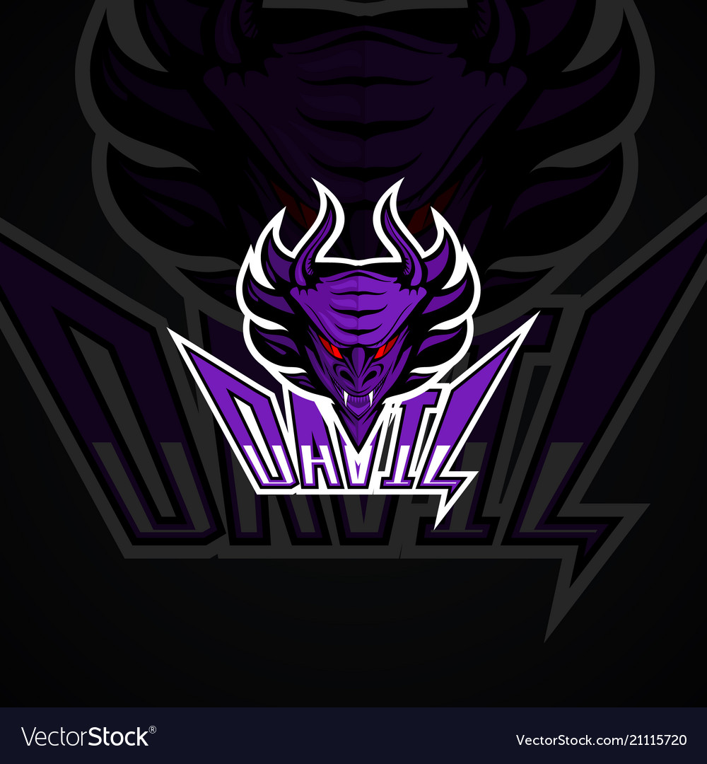 Devil logo high resolution image