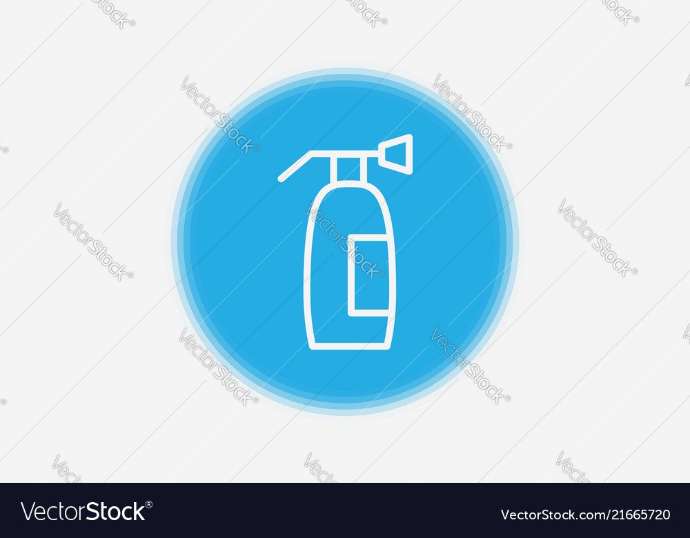 Fire Extinguisher Icon Sign Symbol Royalty Free Vector Image